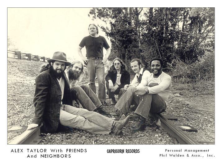 AlexTaylorAndFriendsAndNeighbors1972OpeningForALlmanBrothers.jpg