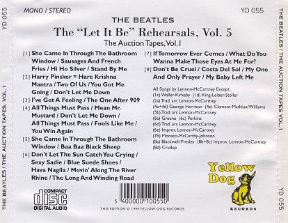 BeatlesTheLetItBeRehearsalsVolume5TheAuctionTapes.jpg