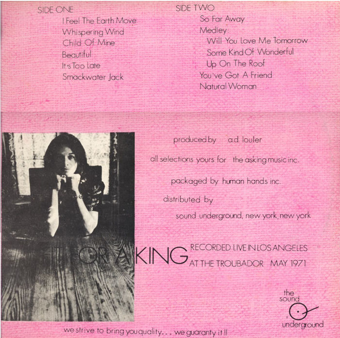 Enjoy this great piece of carole king history