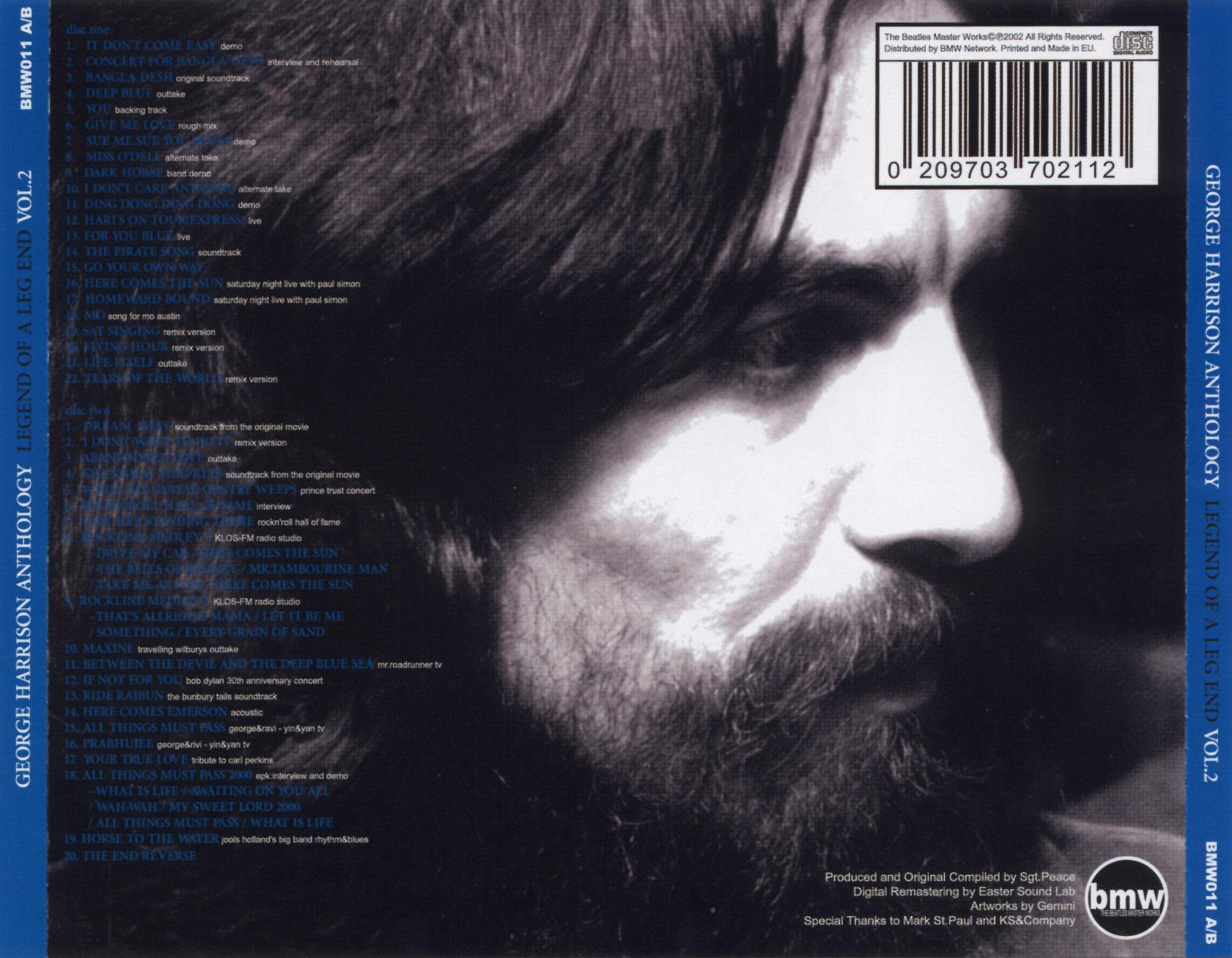 George harrison - dark horse; 1974; italy; vg/nm - 109752