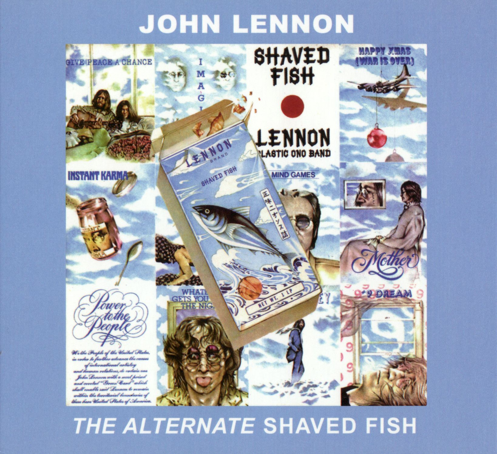 Sugarmegs audio setlist for John lennon shaved fish