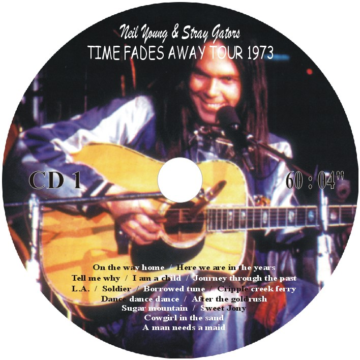 time fades away neil young cd